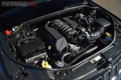 2014 Jeep Grand Cherokee SRT 6.4 HEMI engine
