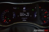 2014 Jeep Grand Cherokee SRT TFT display