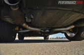 2014 Jeep Grand Cherokee SRT exhaust and underbody