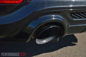 2014 Jeep Grand Cherokee SRT exhaust tip