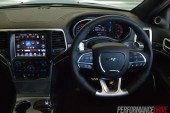 2014 Jeep Grand Cherokee SRT interior