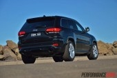 2014 Jeep Grand Cherokee SRT rear