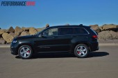 2014 Jeep Grand Cherokee SRT side