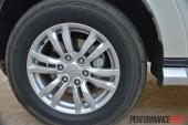 2014 Mitsubishi Pajero Exceed 18in wheels twin-piston brakes