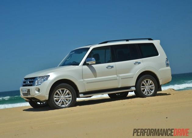 2014 Mitsubishi Pajero Exceed Warm White Pearl