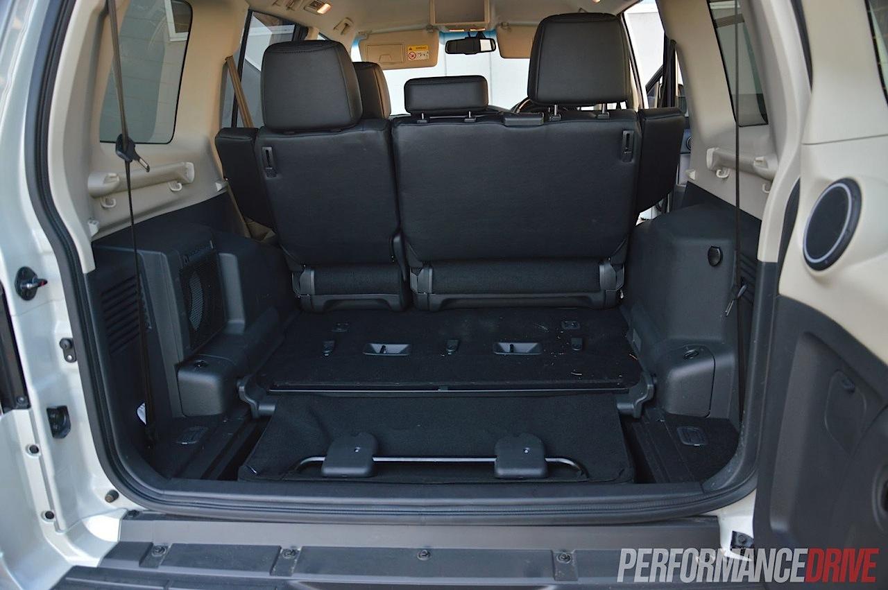 2014 Mitsubishi Pajero Exceed Cargo Space