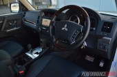 2014 Mitsubishi Pajero Exceed interior