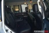 2014 Mitsubishi Pajero Exceed rear seats
