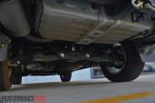 2014 Mitsubishi Pajero Exceed rear suspension