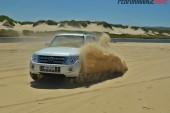 2014 Mitsubishi Pajero Exceed sand