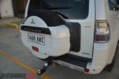 2014 Mitsubishi Pajero Exceed spare wheel