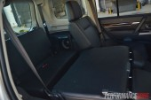 2014 Mitsubishi Pajero Exceed third row seat