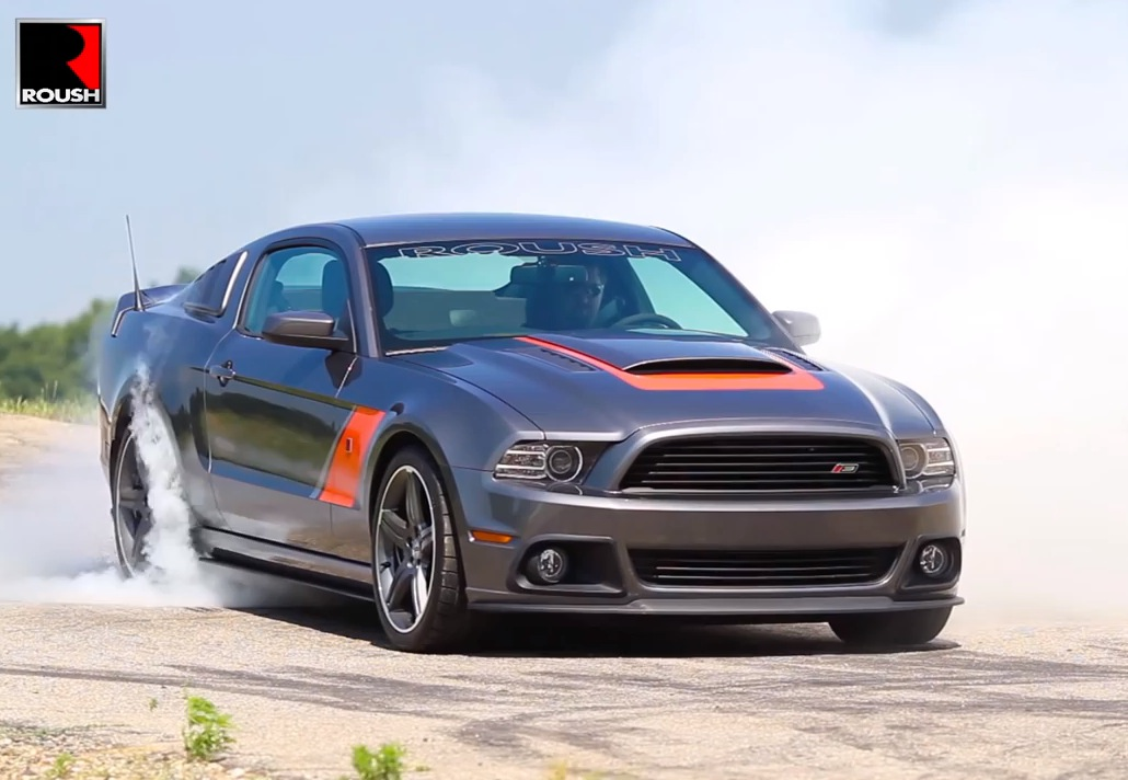 2014 roush mustang stage 3 kit tested with 1min burnout performancedrive. Black Bedroom Furniture Sets. Home Design Ideas