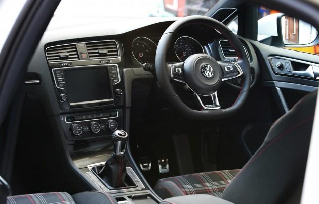 2014 Volkswagen Golf GTI Mk7 interior