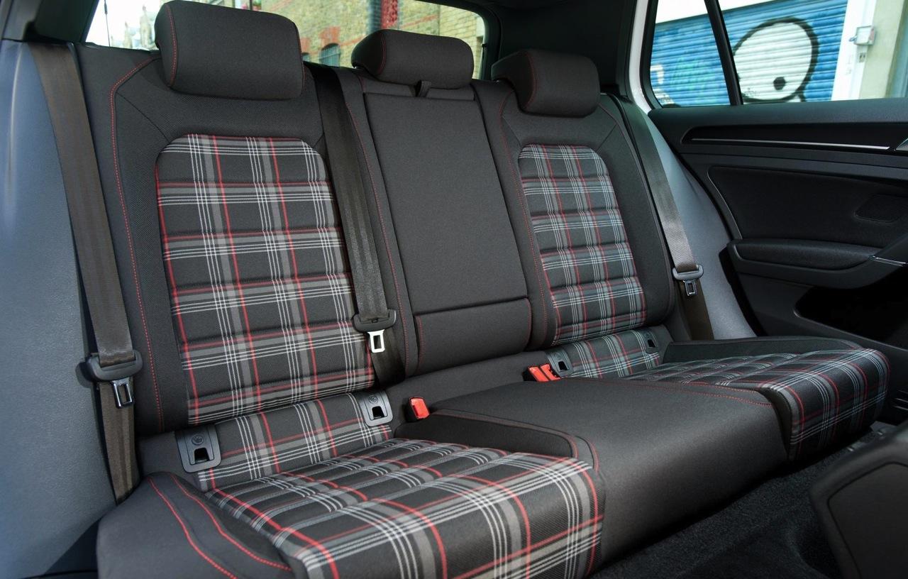 2014 Volkswagen Golf GTI Mk7 rear seats