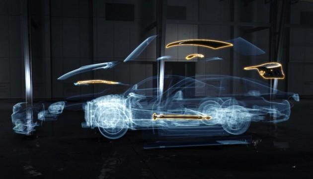 BMW M4 carbon fibre
