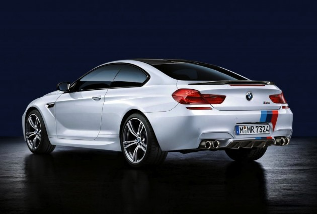BMW M6 M Performance accessories-rear spoiler