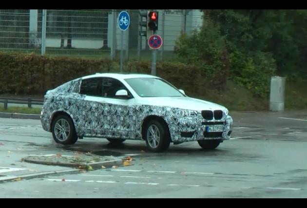 BMW X4 prototype