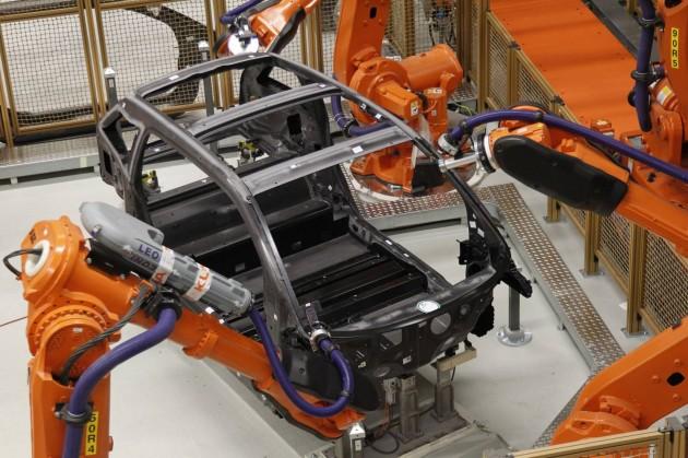 BMW i3 carbon fibre construction