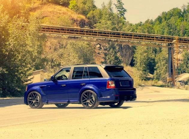 CDC Nighthawk Range Rover-rear