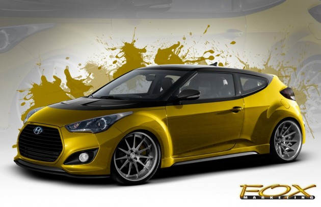 Fox Marketing Hyundai Veloster Turbo preview-2013 SEMA