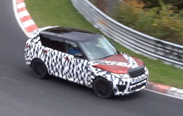 Range Rover Sport RS prototype-Nurburgring