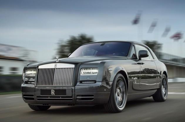 Rolls-Royce Phantom Bespoke Chicane Coupe-driving