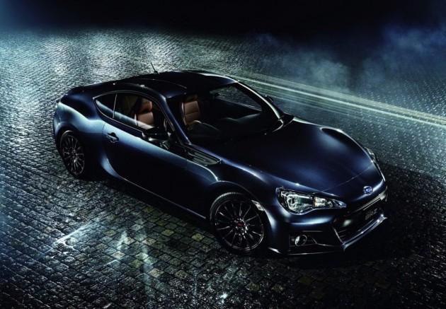 Subaru BRZ Premium Sport Edition-blue