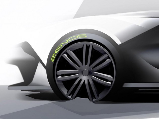 Zenos E10 design sketches-brakes
