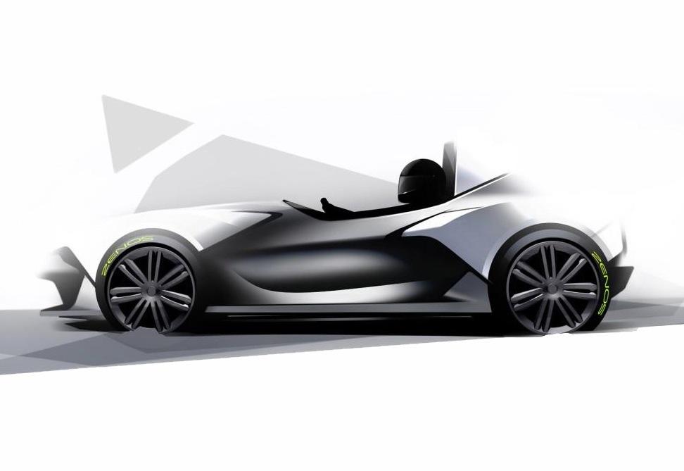 Zenos E10 Concept Sketches Preview New Super Lightweight