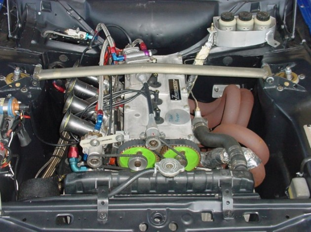 1981 Ford Escort Zakspeed-2L engine