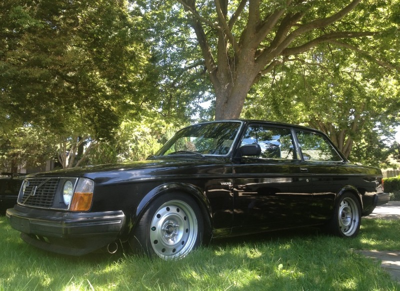 for sale 10 second 1983 volvo 242 with turbo chev v8 performancedrive. Black Bedroom Furniture Sets. Home Design Ideas