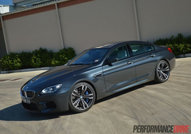 2013 BMW M6 Gran Coupe front