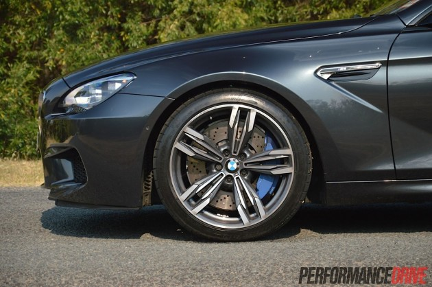 2013 BMW M6 Gran Coupe front brakes