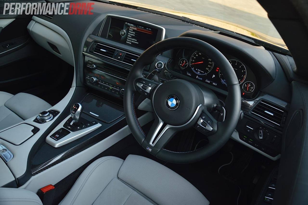 2013 bmw m6 gran coupe review video performancedrive - Bmw m6 gran coupe interior ...