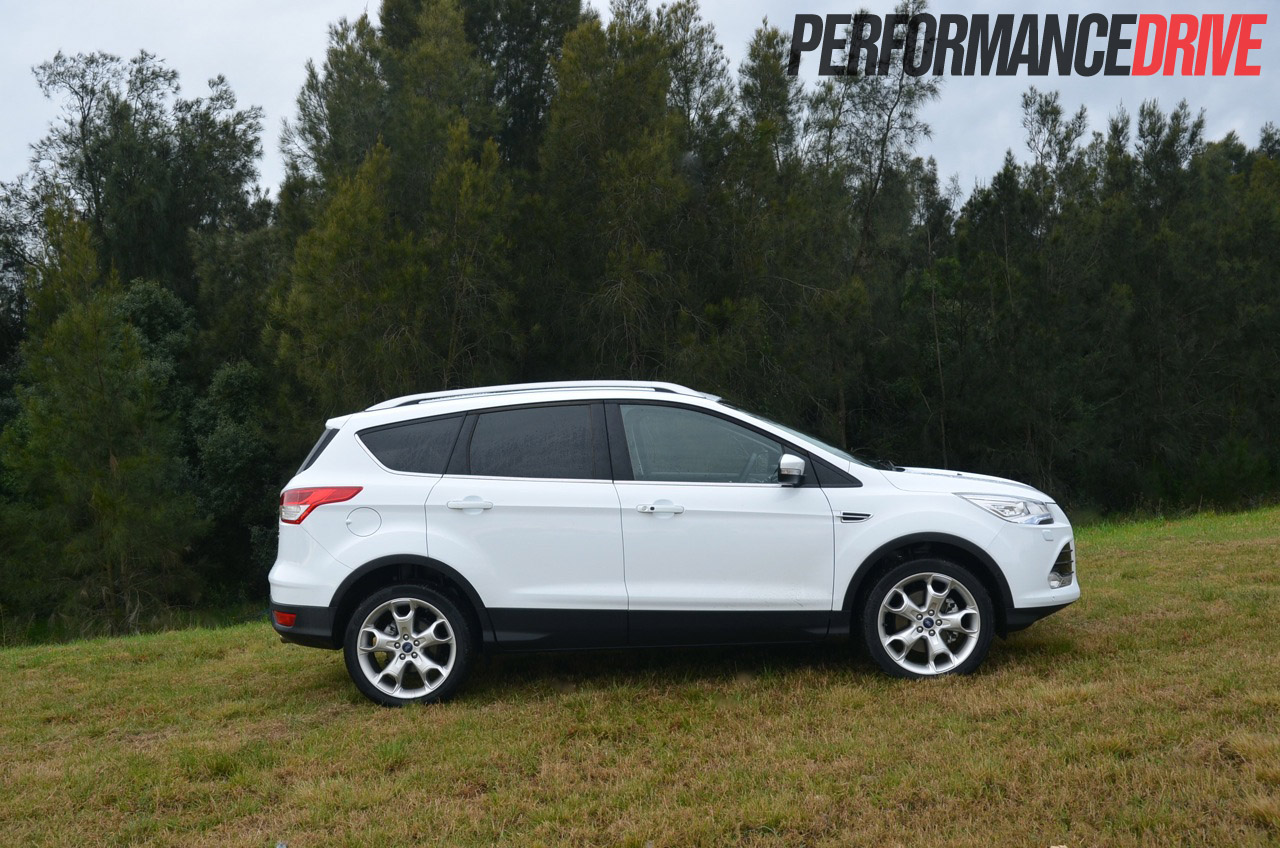 ford kuga titanium tdci review performancedrive. Black Bedroom Furniture Sets. Home Design Ideas