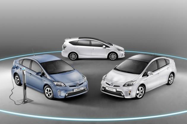 2013 Toyota Prius family