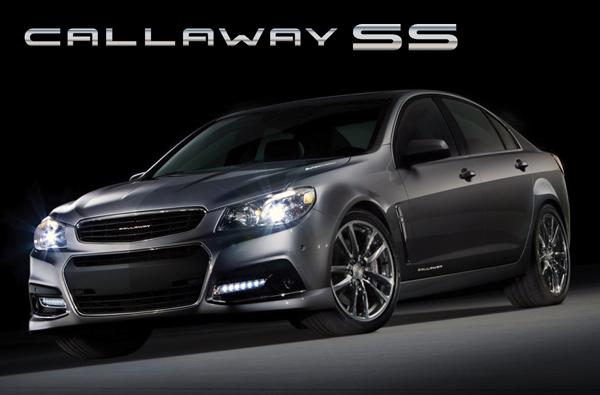 2014 Callaway Chevrolet SS sedan