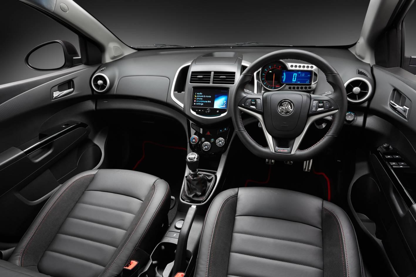2014 Holden Barina Rs Interior