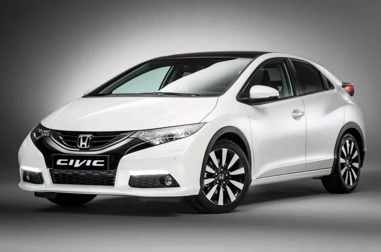 2014 honda civic hatch 39 euro spec 39 revealed performancedrive. Black Bedroom Furniture Sets. Home Design Ideas