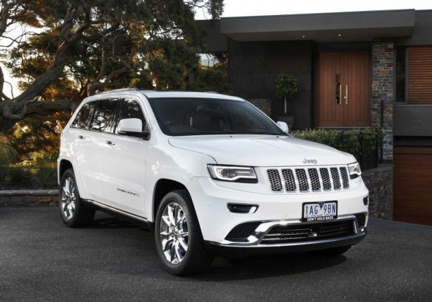 2014 Jeep Grand Cherokee Summit-front