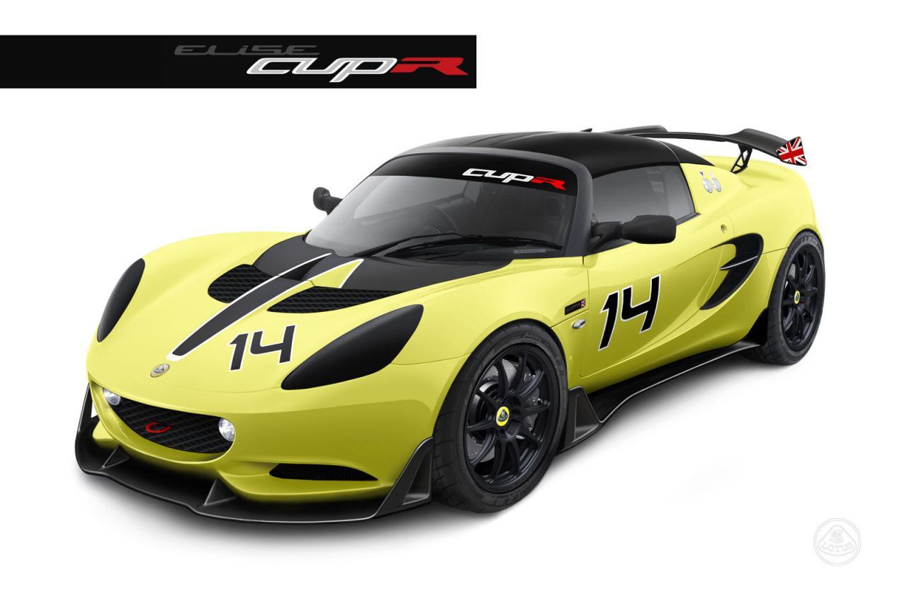 lotus elise s cup r track only racer revealed performancedrive. Black Bedroom Furniture Sets. Home Design Ideas