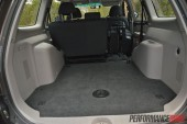 2014 Mitsubishi Challenger cargo space