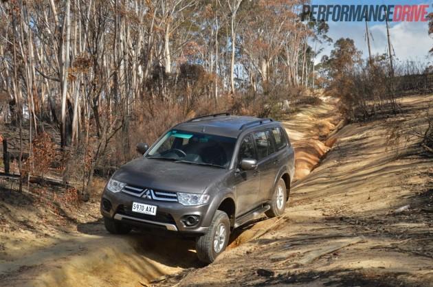 2014 Mitsubishi Challenger-off road