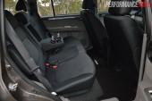 2014 Mitsubishi Challenger rear seats