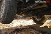 2014 Mitsubishi Challenger rear underbody