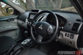 2014 Mitsubishi Challenger steering wheel