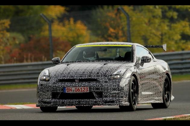 2014 Nissan GT-R Nismo prototype-Nurburgring