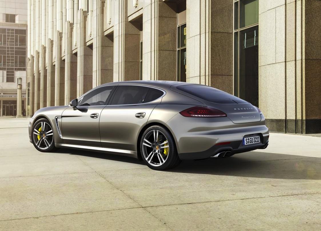 2014 Porsche Panamera Turbo S; more power, more efficient