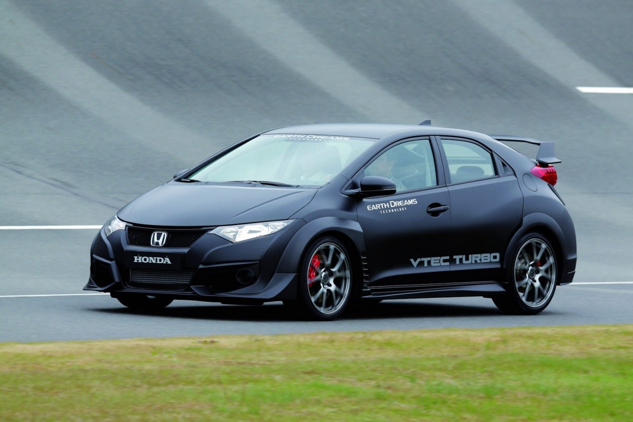 2015 honda civic type r prototype reveals aggressive styling performancedrive. Black Bedroom Furniture Sets. Home Design Ideas